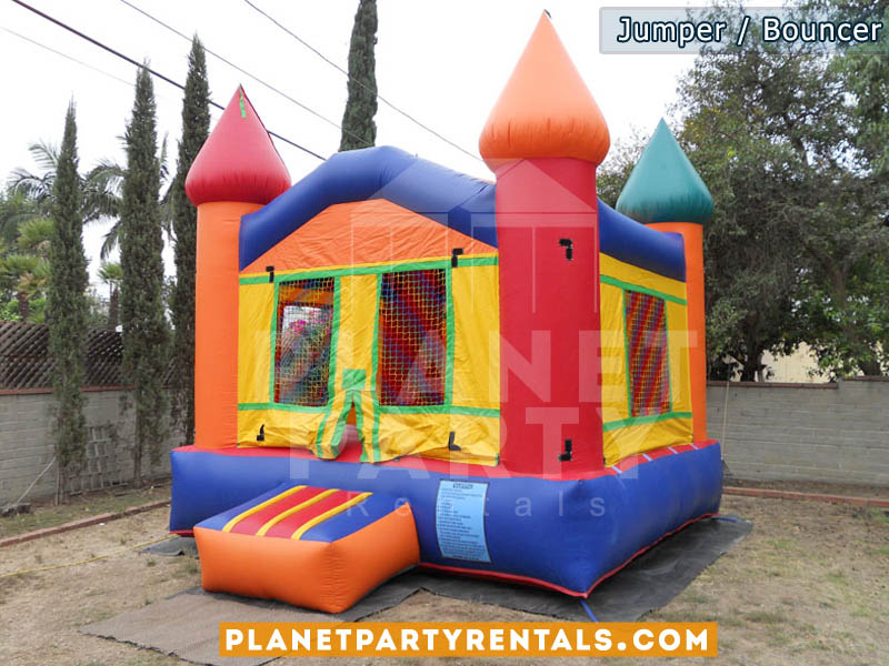 Jumper/MoonBouncer 13ft x 13ft multi-colored for rent | San Fernando Valley Bouncer rentals