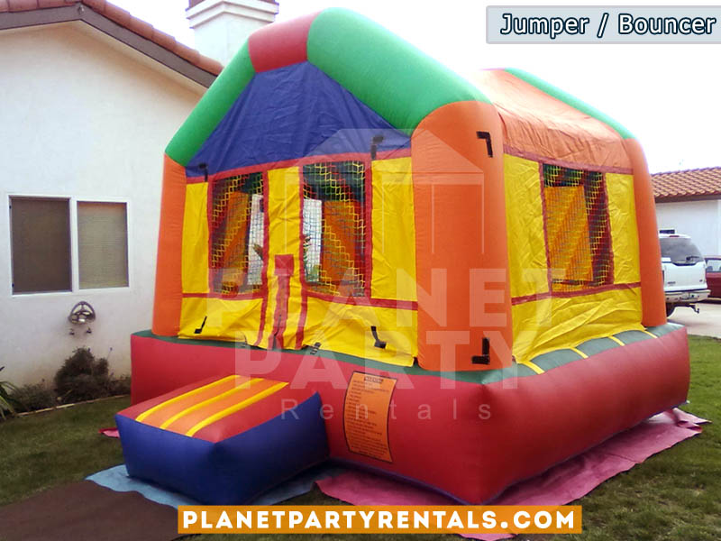 Jumper/Moon-Bouncer rentals | Jumper rentals packages with tables and chairs available | San Fernando Valley | Santa Clarita | West Los Angeles | Van Nuys
