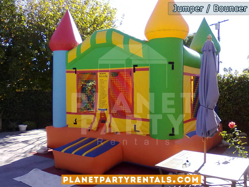 multicolored jumper castle 13ft x 13ft | san fernando valley jumper/bouncer rentals | simi valley | santa clarita | West Los Angeles | Van Nuys