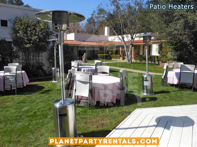 Patio Heater Rentals for Weddings Events Quinceanera|PatioHeater rental includes propane gas