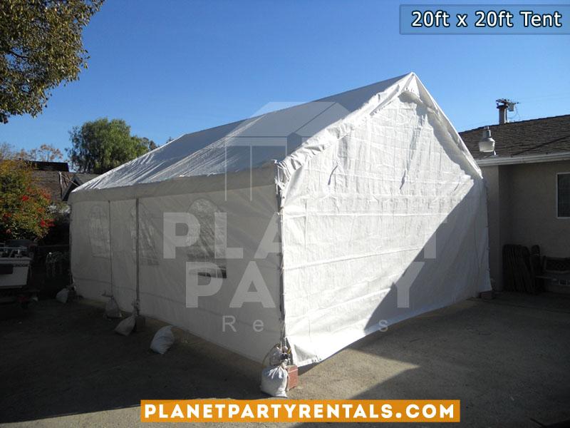 Tent Rentals | 20ft x 20ft Tent Rentals | White Tent Rentals