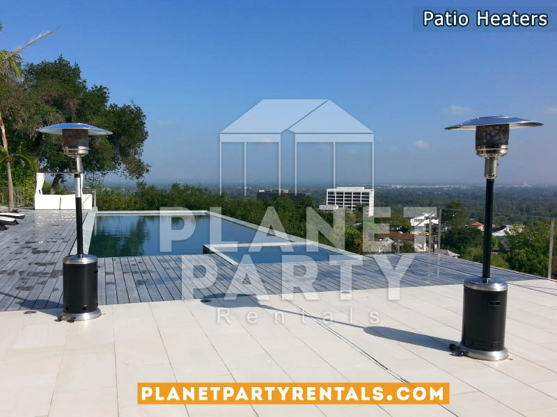 Black Stainless Steel Outdoor Patio Heaters
