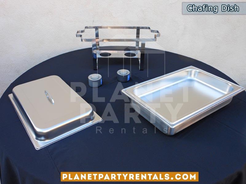 8qt rectangular chafing dish | Food warmer | San Fernando valley party rentals
