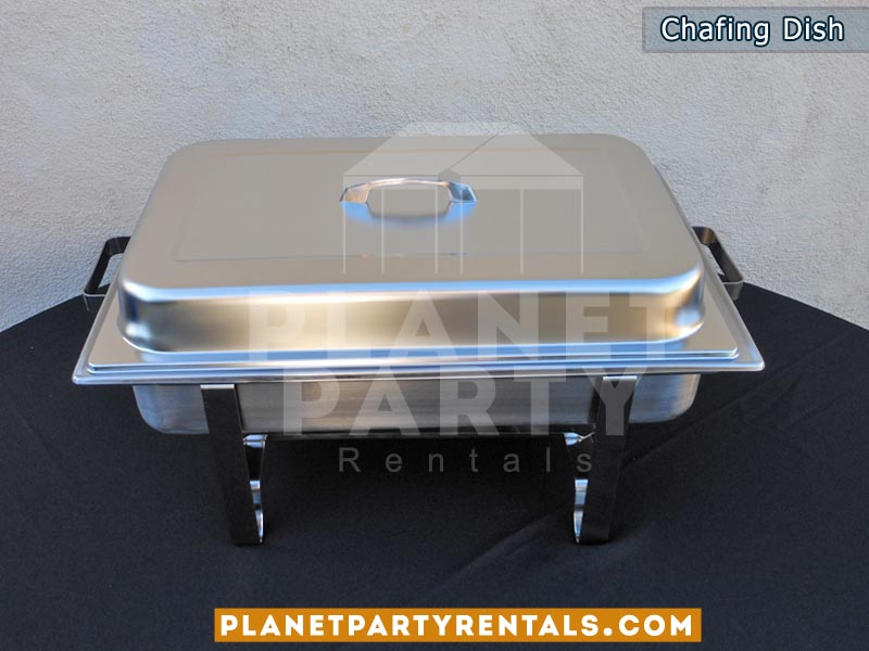 8qt rectangular chafing dish | Food warmer | San Fernando valley party rentals
