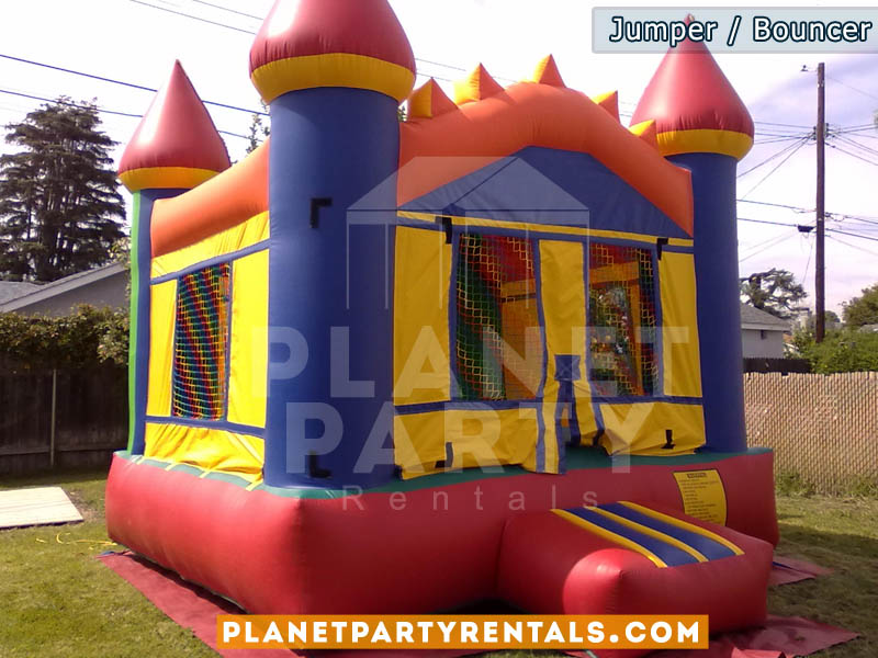 Jumper / Bouncer rental | multicolored jumper | San Fernando Valley Jumper Rentals