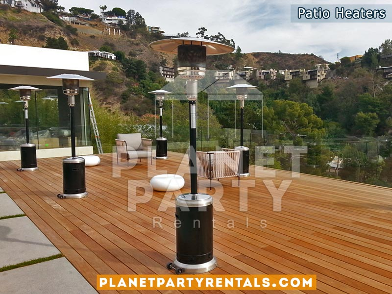 Outdoor Propane Patio Heaters Rentals | Party Rental Equipment