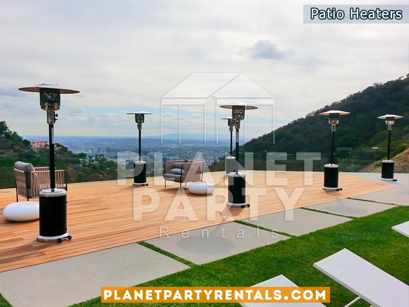 Propane Patio Heaters Rentals | Party Rental Equipment