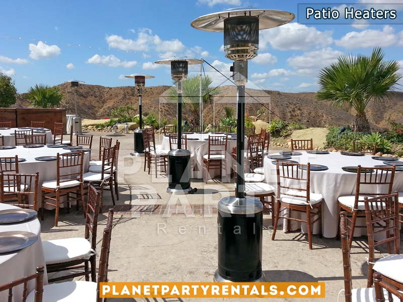 Outdoor Gas Patio Heaters | San Fernando Valley Patio Heater Rentals